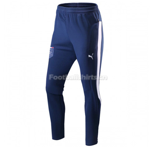 Italy Navy&White Training Pants (Trousers) 2017/18