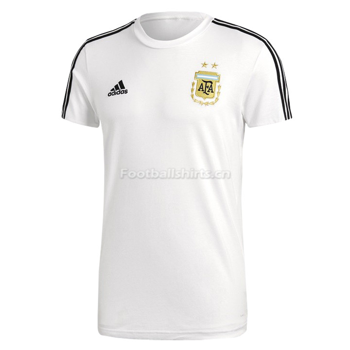 Argentina FIFA World Cup 2018 White Crest T-Shirt