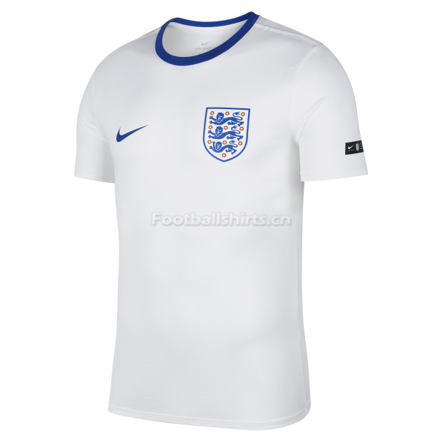 England FIFA World Cup 2018 White Crest T-Shirt