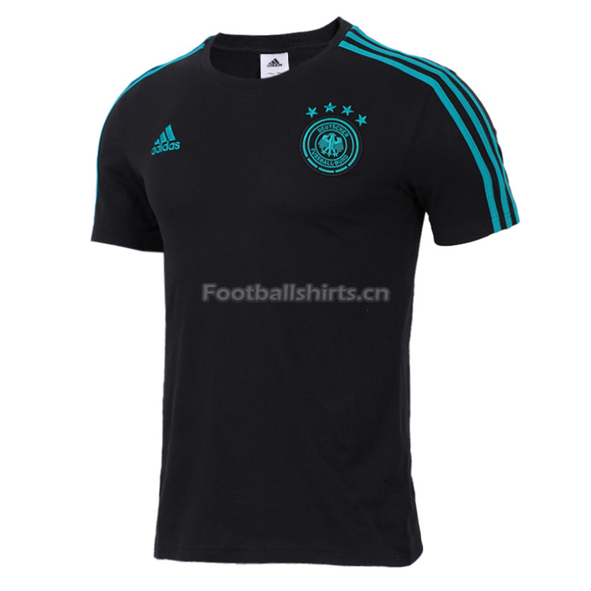 Germany FIFA World Cup 2018 Black Crest T-Shirt