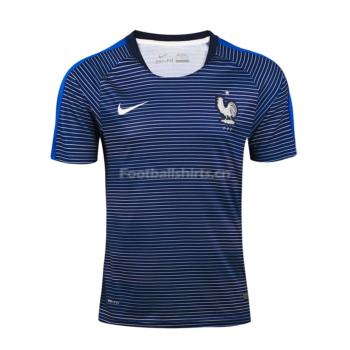 France 2018 World Cup Blue Training Shirt