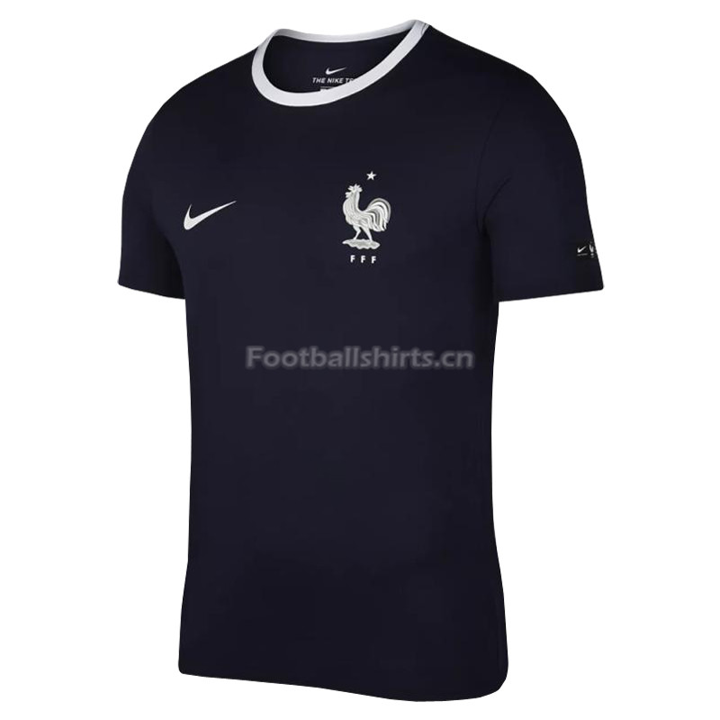 France FIFA World Cup 2018 Navy Crest T-Shirt