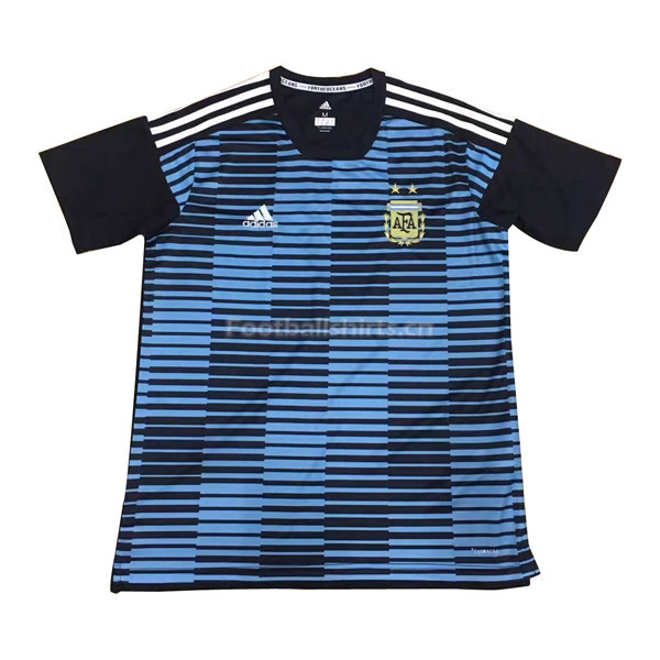 Argentina 2018 World Cup Blue Pre-Match Training Shirt