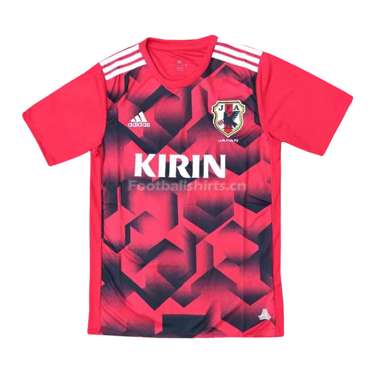 Japan 2018 World Cup Red Training Shirt
