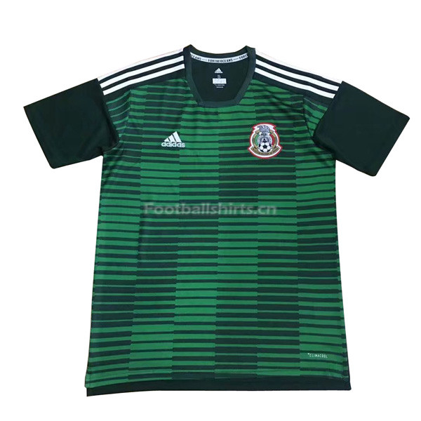 Mexico 2018 World Cup Green Pre-Match Training Shirt