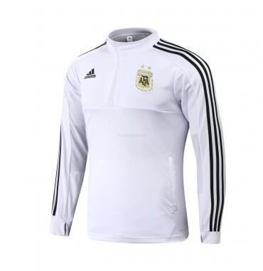 Argentina World Cup 2018 Training Sweat Shirt White
