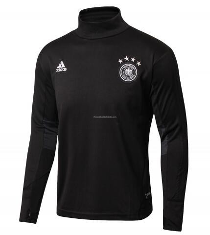 Germany World Cup 2018 Black Training Sweat Shirt