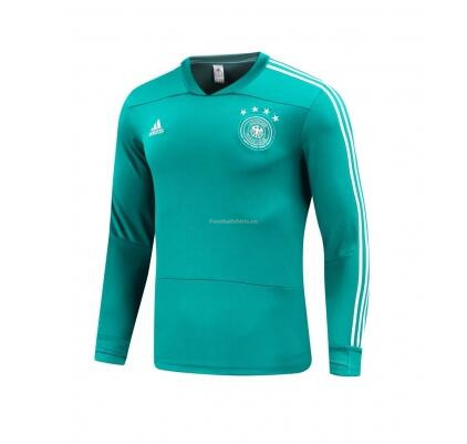 Germany World Cup 2018 Blue Training Sweat Shirt