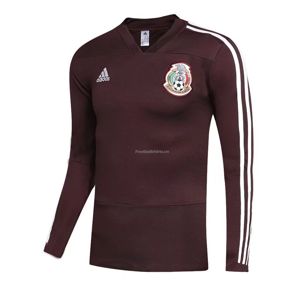 Mexico World Cup 2018 Training Sweat Shirt Red