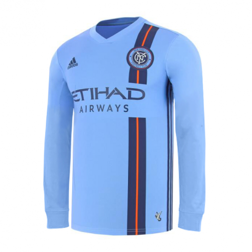 New York City FC Home Soccer Jersey Long Sleeve 2019/20
