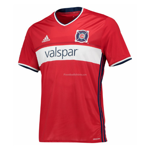 Chicago Fire Home Soccer Jersey 2017/18