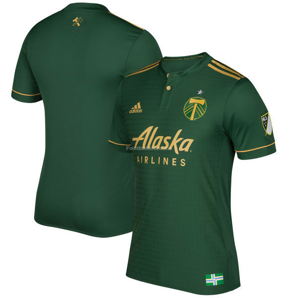 Portland Timbers Home Soccer Jersey 2017/18